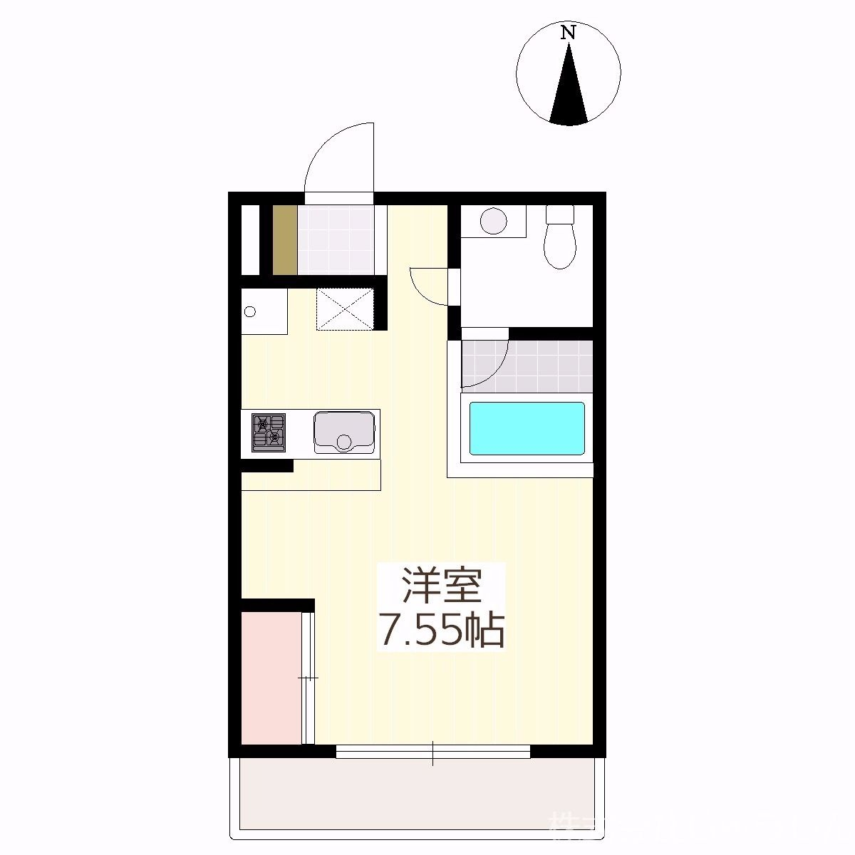 デザイナーズマンション!☆生活環境良好♪☆駅近6分と好立地 表紙