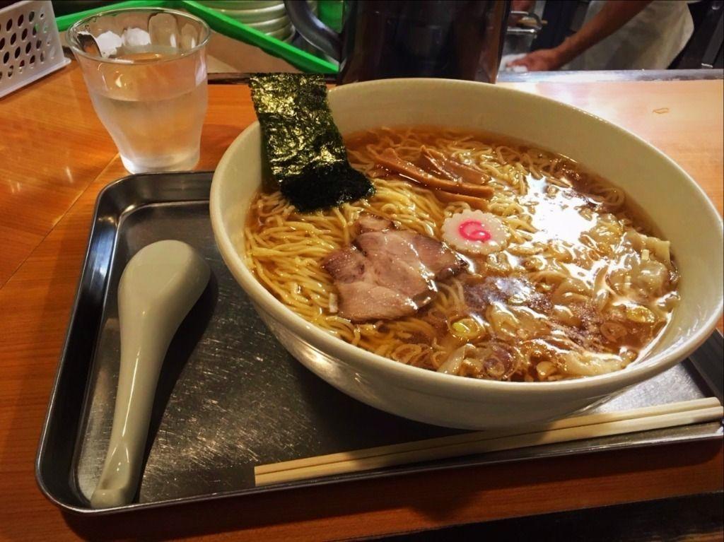 東急東横線日吉駅の大勝軒