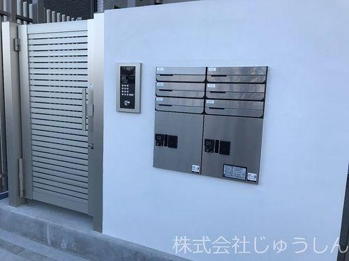 集合ポストと宅配ボックス。これからの時代は必須の設備と設置。ZOZOや、ユニクロ、AMAZON、楽天などで買ったものに利用できます。