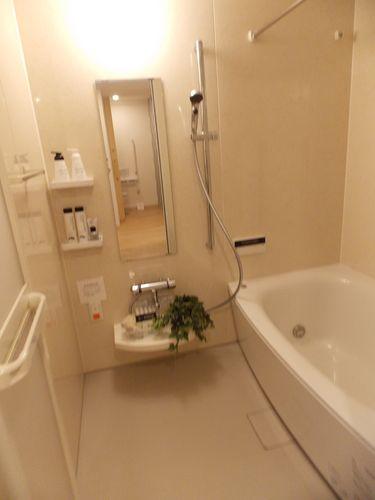 いつでも好きな時に入浴可能な浴室
