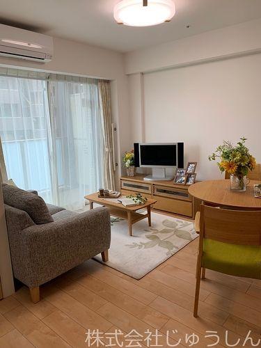 ゆったり生活ができる居室スペース