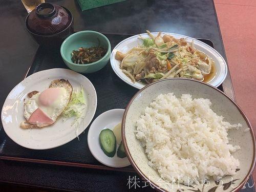 日吉本町の中華料理屋さん三陽の定食