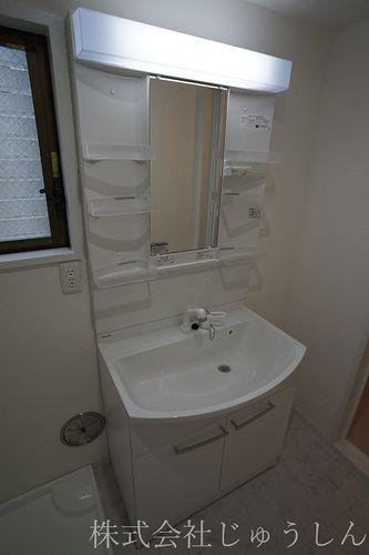 シャワータイプ洗面台の変更