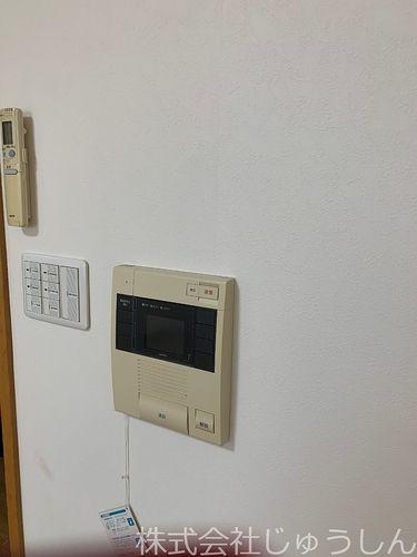 モニター付オートロック解除インターホン