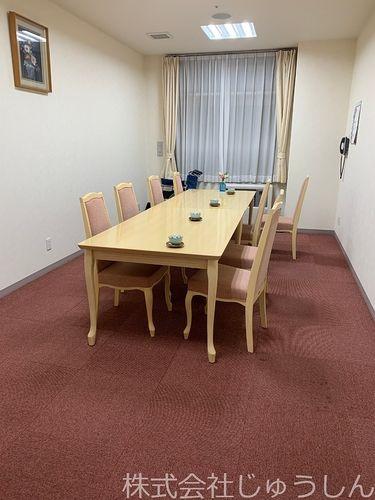 高齢者施設の入居に関するお話をする相談室