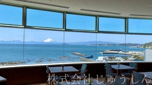湘南葉山の住宅型老人ホームからの眺め
