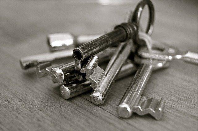 入居前鍵交換について