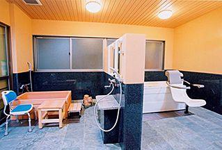 老人ホーム 浴室