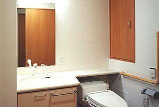 老人ホーム 居室 トイレ 洗面