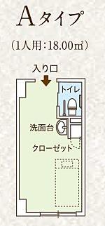 ココファン日吉7丁目 介護用居室 間取り