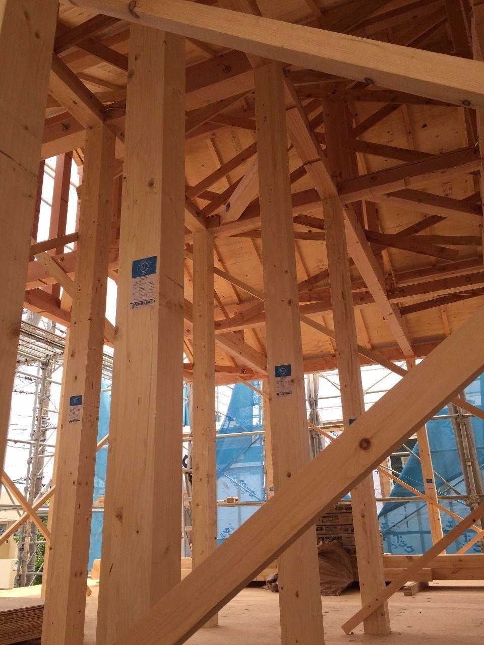 港北区下田町 新築戸建て 2階現場写真