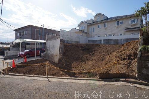 富士塚二丁目 売地写真